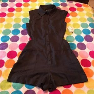 Bebe cut out exposed sides romper